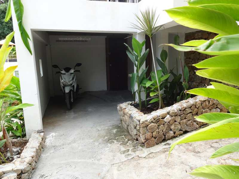 Photo 40 english private garage of scooters under the villa in Koh Samui thailand